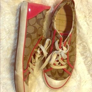Size 9 Coach Sneakers
